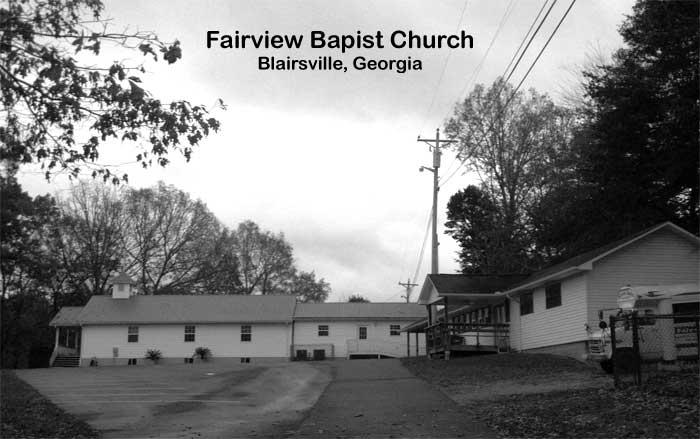 Fairview Baptist Church - Blairsville, Georgia